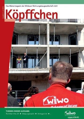 Ausgabe 3 / 2012 - WiWO Wildauer Wohnungsbaugesellschaft