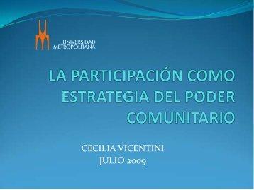 Presentación de la Profa. Cecilia Vicentini(866.4 KB - Ildis
