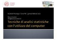 Tecniche di Analisi: elementi base [Pdf] - Marco Vicentini