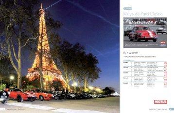 Rallye de Paris Classic - Rallystory