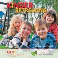 Broschüre - Kinderbetreuung in Neumünster - alleinerziehende ...