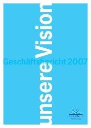 Geschäftsbericht 2007 - CSS Versicherung