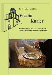 Vicelin Kurier - Ev.- luth. Vicelin - Kirchengemeinde Neumünster