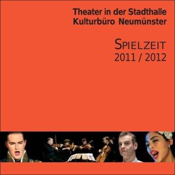 SPIELZEIT - Schleswig-Holsteinisches Landestheater und ...