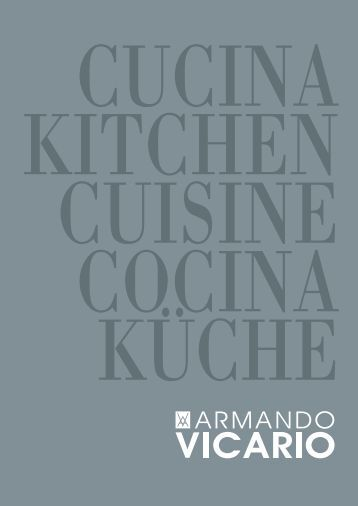download kitchen catalogue - Vicario Armando & C. srl