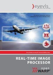 REaL-timE imagE PRocEssoR - Eyevis GmbH