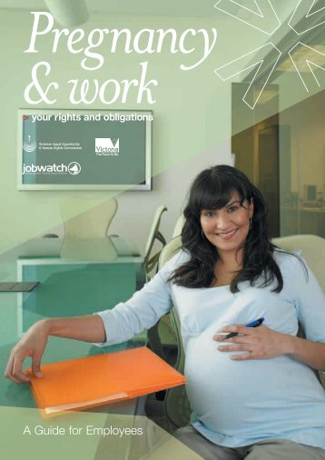 Pregnancy and work: Your rights and obligations ... - ways2work