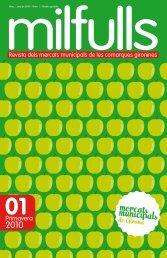 Primer exemplar revista Milfulls - Diputació de Girona