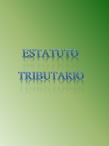 Estatuto Tributario