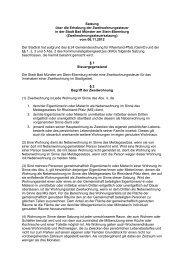 Satzung über die Erhebung der Zweitwohnungssteuer in der Stadt ...