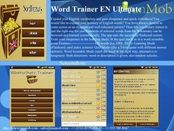 Word Trainer EN Ultimate - RunMob