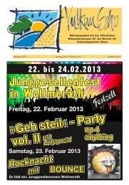Ausgabe 08/2013 - Verbandsgemeinde Ulmen