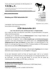 02 Einladung Berbertreffen 2011 - VFZB eV Verein der Freunde und ...