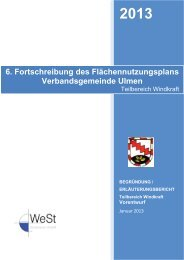 Erläuterungsbericht Windkraft - Verbandsgemeinde Ulmen