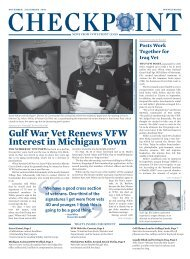 Gulf War Vet Renews VFW Interest in Michigan Town - Veterans of ...
