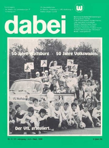 Olympische Ehren winken. - Vfl-wob.de