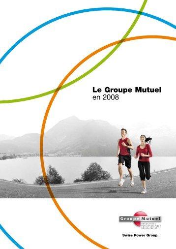 Le Groupe Mutuel en 2008 - PDF (4Mb)