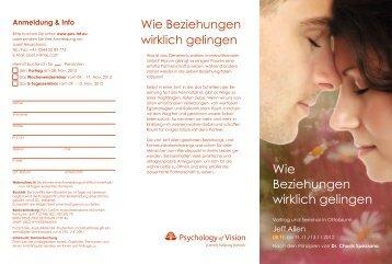 Wie Beziehungen wirklich gelingen - Psychology of Vision
