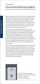 Deutsche Literatur Studien und Quellen - Oldenbourg Verlag - Page 5