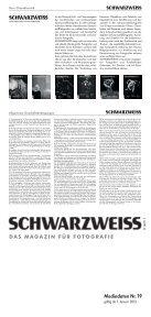 Schwarzweiss Mediadaten Nr. 19/2013 - Tecklenborg Verlag - Page 2