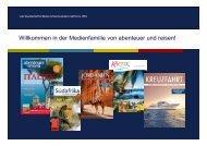abenteuer und reisen – Medienfamilie - WDV Gesellschaft für ...