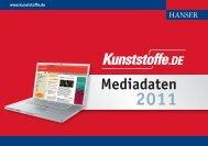 KU_DE Mediadaten 2011 - Kunststoffe.de