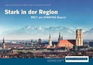Ergänzungspreisliste Welt am Sonntag Bayern 2013 - Axel Springer ...