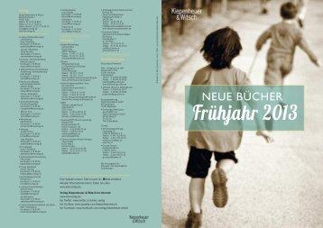 KiWi Vorschau Hardcover - Alexandra Wübbelsmann