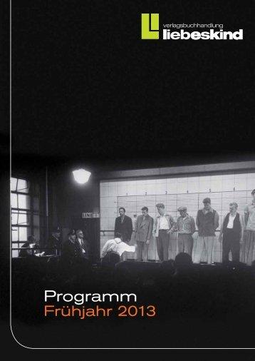 Programm - Liebeskind