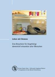 Leben mit Demenz - Sparkasse Bremen