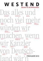 Westend Frühjahr 2013 - Piper Verlag GmbH