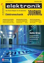 PDF-Ausgabe herunterladen (36 MB) - elektronikJOURNAL