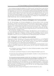 4.10 Untersuchungen zur Parameterabhängigkeit ... - Universität Bonn