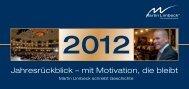 Jahresrückblick – mit Motivation, die bleibt - Martin Limbeck