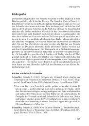 Francis A. Schaeffer: Bibliografie - TheoBlog
