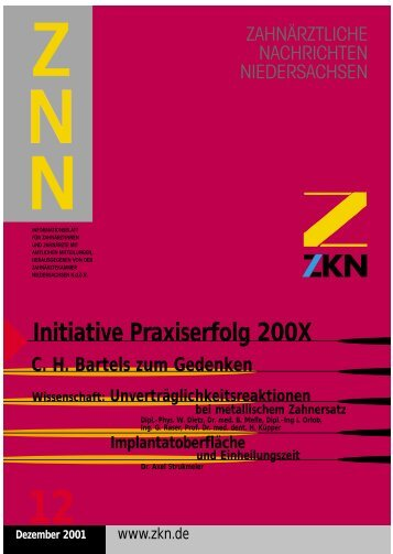 BAZ - Zahnärztekammer Niedersachsen