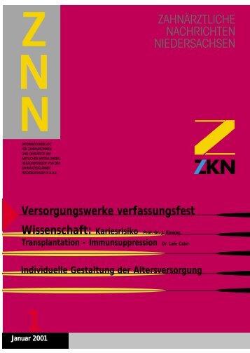 Versorgungswerke verfassungsfest - Zahnärztekammer ...