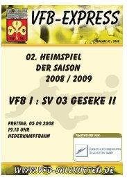 Heft_02_2008 - VfB Salzkotten