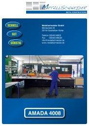 AMADA 4008 - SKG - Metallschneider GmbH