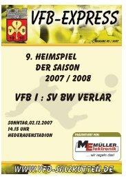 Heft9 2007 - VfB Salzkotten