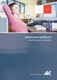 Arbeitsrecht griffbereit - AK - Tirol