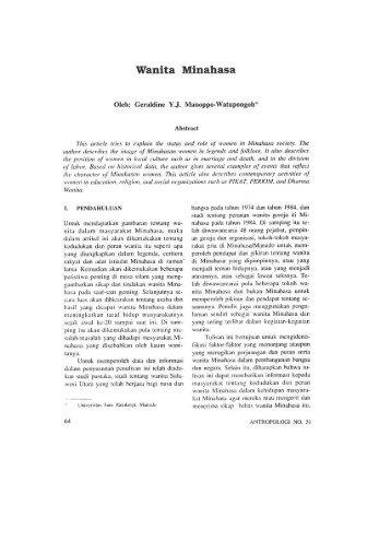 geraldine manoppo.pdf - Antropologi FISIP UI