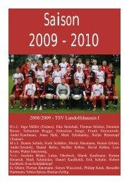 Saison 2009/2010 - TSV Landolfshausen