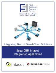 Download SugarCRM Intacct Integration Spec Sheet