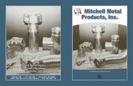 Specifications - Mitchell Metal Products