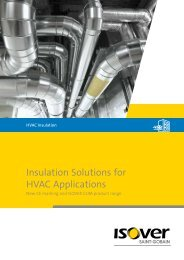 Insulation Solutions for HVAC Applications - Technical Insulation