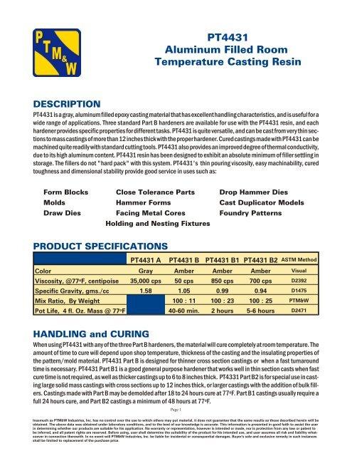 PT4431 Bulletin pdf - Composites Canada