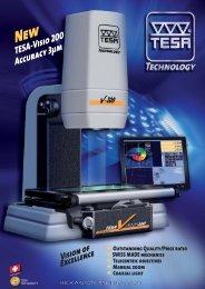 TESA-Visio 200 Accuracy 3μm