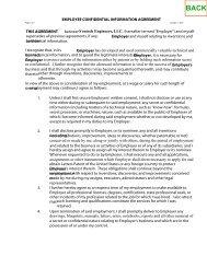 Confidential Information Agreement - Ventech!