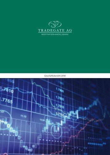 Geschäftsbericht 2010 - Tradegate AG
